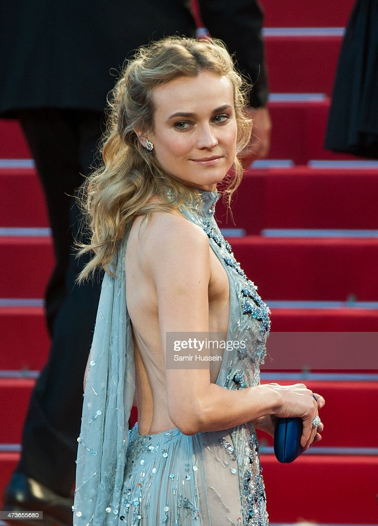 <a gi-track='captionPersonalityLinkClicked' href=/galleries/search?phrase=Diane+Kruger&family=editorial&specificpeople=202640 ng-click='$event.stopPropagation()'>Diane Kruger</a> attends 'The Sea Of Trees' Premiere during the 68th annual Cannes Film Festival on May 16, 2015 in Cannes, France.