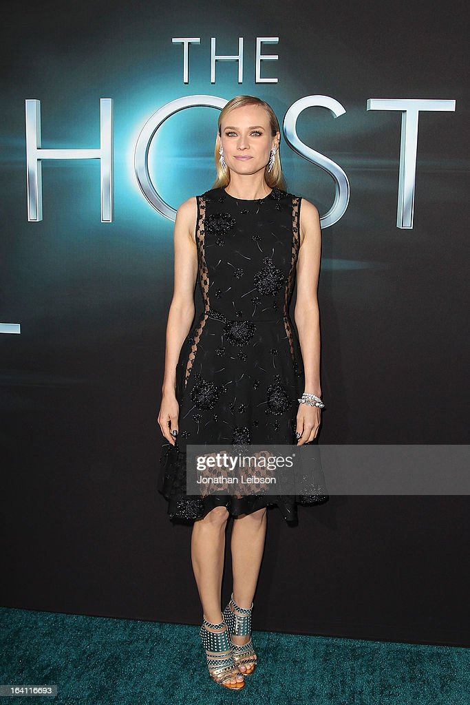 <a gi-track='captionPersonalityLinkClicked' href=/galleries/search?phrase=Diane+Kruger&family=editorial&specificpeople=202640 ng-click='$event.stopPropagation()'>Diane Kruger</a> attends the 'The Host' Los Angeles premiere at ArcLight Cinemas Cinerama Dome on March 19, 2013 in Hollywood, California.