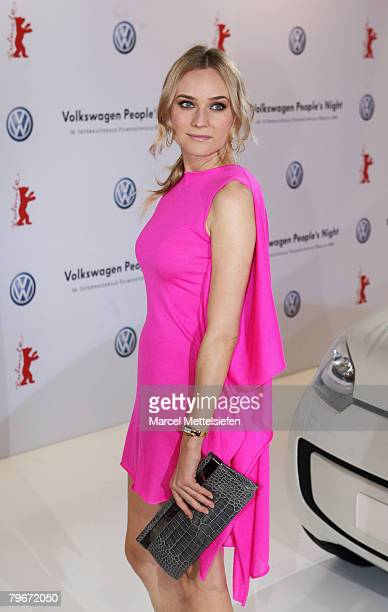 Diane Kruger attends the 'VolksWagen People's Night' as part of the 58th Berlinale Film Festival at the Grand Hyatt Hotel on February 8 2008 in...