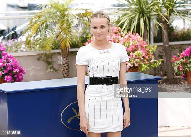 Diane Kruger during 2007 Cannes Film Festival Master of Ceremonies Photocall at Terrasse Riviera in Cannes France