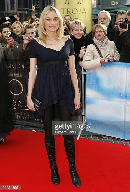 Diane Kruger during 57th Berlinale International Film Festival 'Troy Directors Cut' Premiere in Berlin Germany