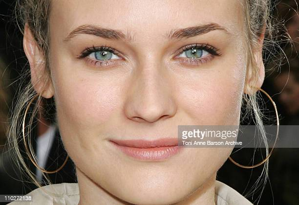 Diane Kruger during Paris Fashion Week Pret a Porter Spring/Summer 2006 Chanel Front Row at Grand Palais in Paris France