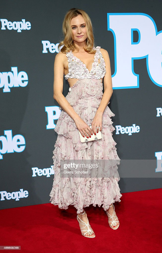 Diane Kruger during the PEOPLE Magazine Germany launch party at Waldorf Astoria on March 17, 2015 in Berlin, Germany.