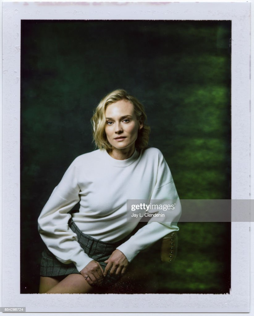 Diane Kruger from the film 'In the Fade,' is photographed on polaroid film at the L.A. Times HQ at the 42nd Toronto International Film Festival, in Toronto, Ontario, Canada, on September 12, 2017.
