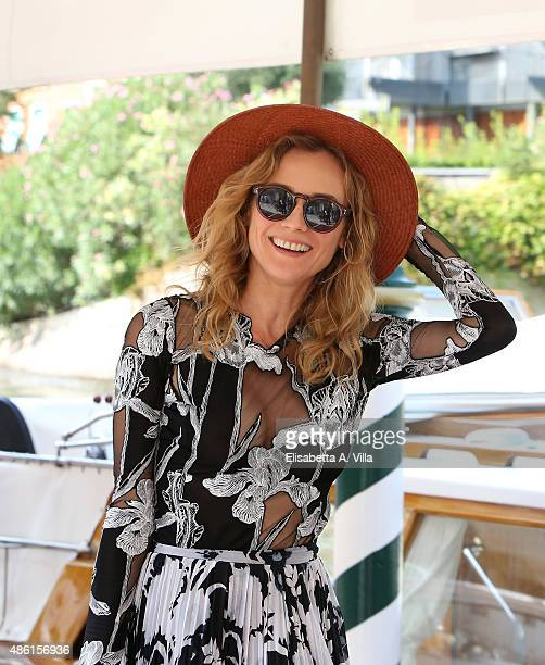 Diane Kruger is seen arriving at the Excelsior Hotel on September 1 2015 in Venice Italy