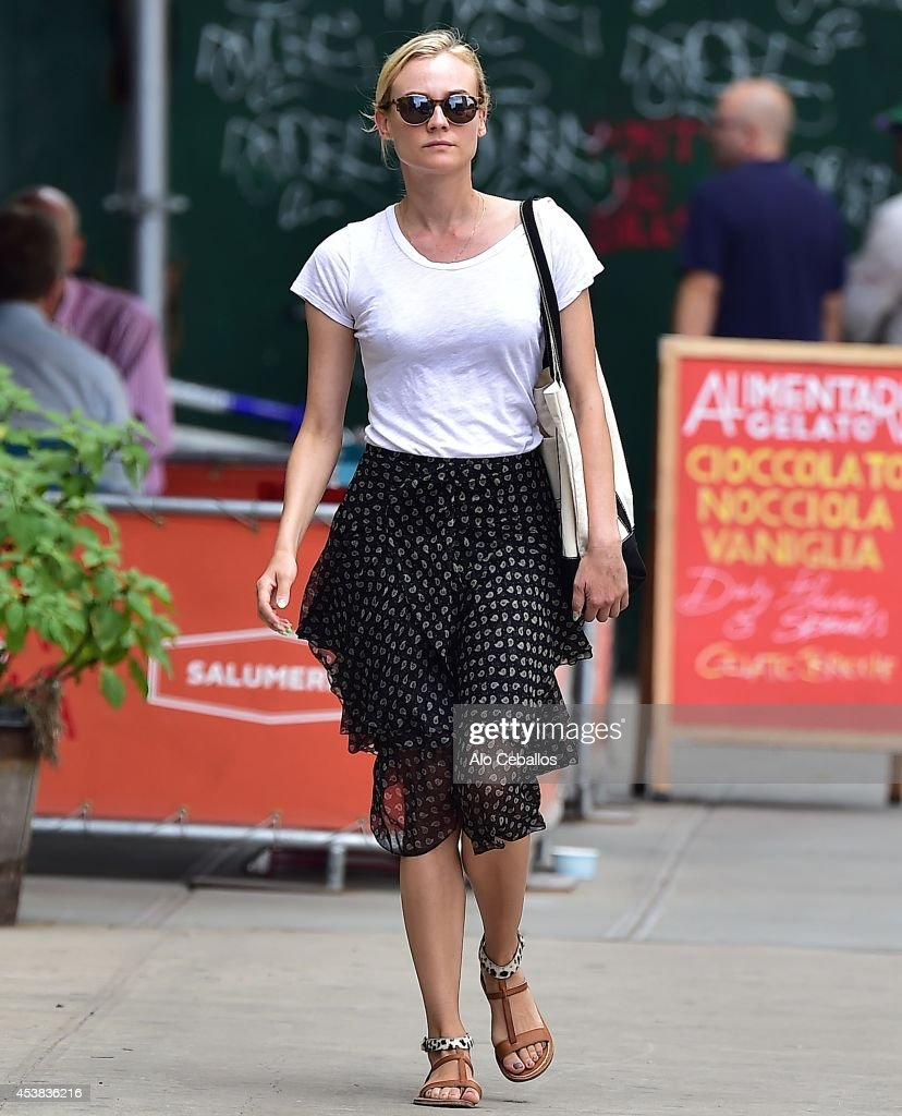 <a gi-track='captionPersonalityLinkClicked' href=/galleries/search?phrase=Diane+Kruger&family=editorial&specificpeople=202640 ng-click='$event.stopPropagation()'>Diane Kruger</a> is seen in Soho on August 19, 2014 in New York City.