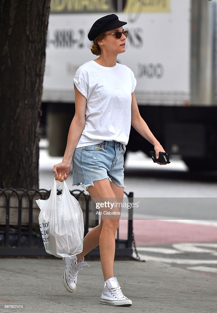 Diane Kruger is seen on August 10 2016 in New York City