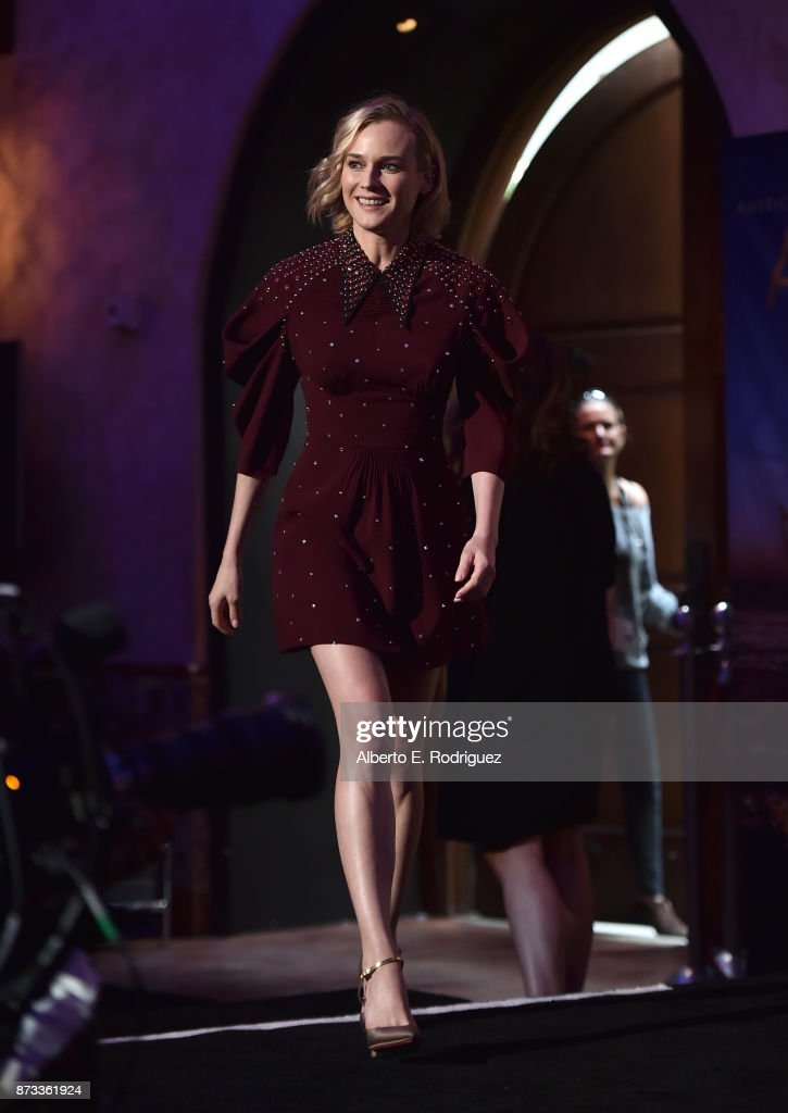 Diane Kruger is seen onstage during 'Indie Contenders Roundtable' at AFI FEST 2017 Presented By Audi at Hollywood Roosevelt Hotel on November 12, 2017 in Hollywood, California.