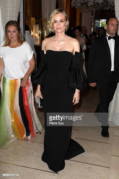 Diane Kruger is spotted at the hotel Majestic during the 70th annual Cannes Film Festival at on May 28 2017 in Cannes France
