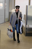 Diane Kruger sighted at Tegel Airport on March 17 2015 in Berlin Germany