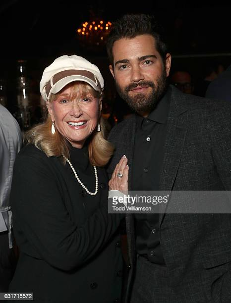 Diane Ladd and Jesse Metcalfe attend the Hallmark Channel And Hallmark Movies And Mysteries Winter 2017 TCA Press Tour at The Tournament House on...