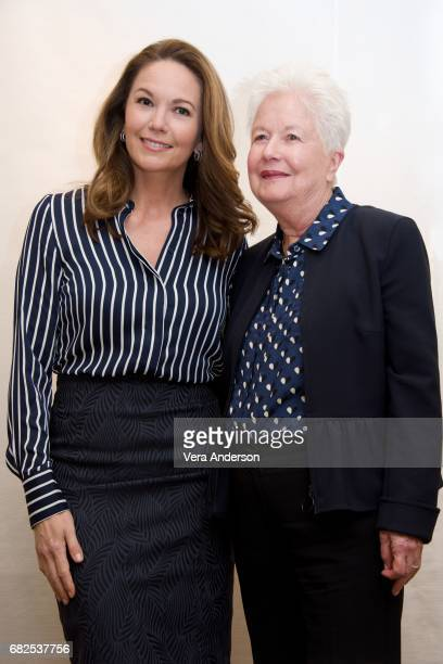 Diane Lane and director Eleanor Coppola at the 'Paris Can Wait' Press Conference at the Four Seasons Hotel on May 11 2017 in Beverly Hills California