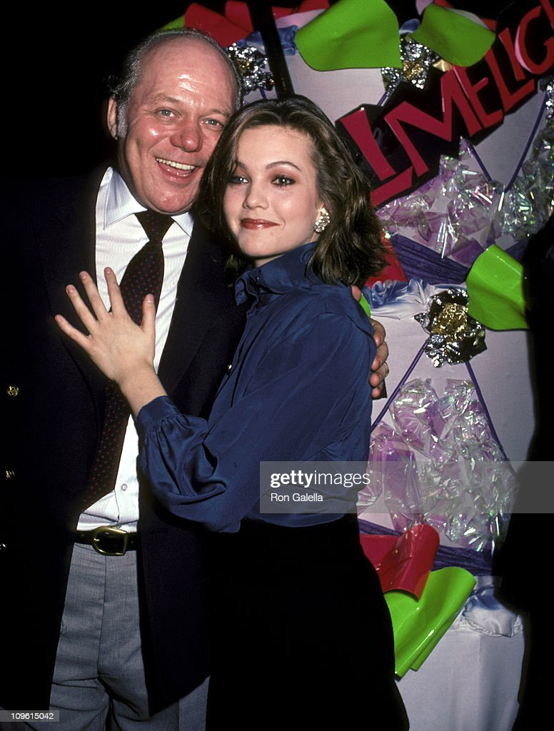 <a gi-track='captionPersonalityLinkClicked' href=/galleries/search?phrase=Diane+Lane&family=editorial&specificpeople=206364 ng-click='$event.stopPropagation()'>Diane Lane</a> and Father Burt Lane during Shirley MacLaine's 50th Birthday Party, 1984 at Limelight in New York, New York, United States.