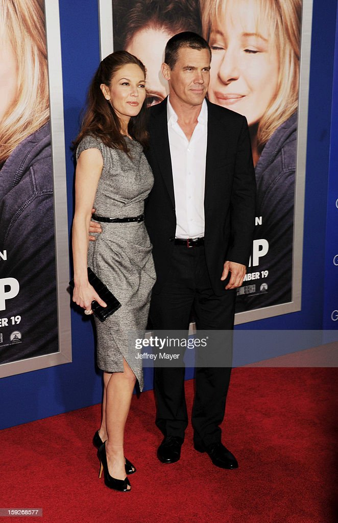 Diane Lane and Josh Brolin arrive at the 'The Guilt Trip' - Los Angeles Premiere at Regency Village Theatre on December 11, 2012 in Westwood, California.