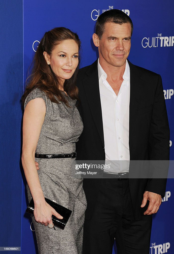 <a gi-track='captionPersonalityLinkClicked' href=/galleries/search?phrase=Diane+Lane&family=editorial&specificpeople=206364 ng-click='$event.stopPropagation()'>Diane Lane</a> and <a gi-track='captionPersonalityLinkClicked' href=/galleries/search?phrase=Josh+Brolin&family=editorial&specificpeople=243198 ng-click='$event.stopPropagation()'>Josh Brolin</a> arrive at the 'The Guilt Trip' - Los Angeles Premiere at Regency Village Theatre on December 11, 2012 in Westwood, California.