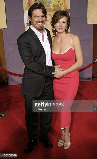 Diane Lane and Josh Brolin during 'Under The Tuscan Sun' Hollywood Premiere at El Capitan Theatre in Hollywood California United States