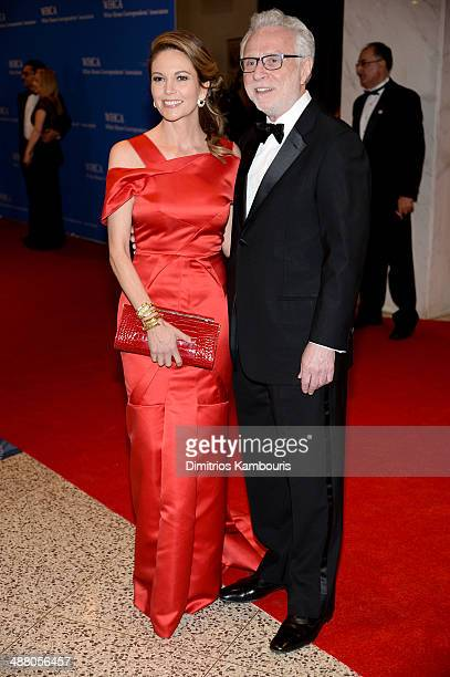 Diane Lane and news anchor Wolf Blitzer attend the 100th Annual White House Correspondents' Association Dinner at the Washington Hilton on May 3 2014...