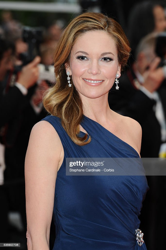 Diane Lane at the Premiere for 'You will meet a tall dark stranger' during the 63rd Cannes International Film Festival.