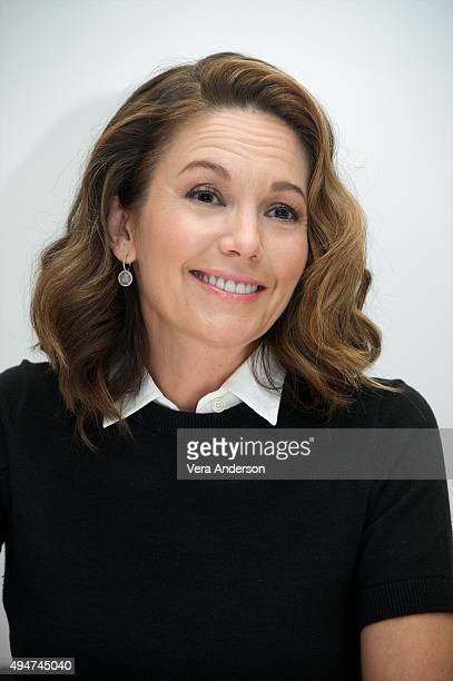 Diane Lane at the 'Trumbo' Press Conference at the Four Seasons Hotel on October 28 2015 in Beverly Hills California