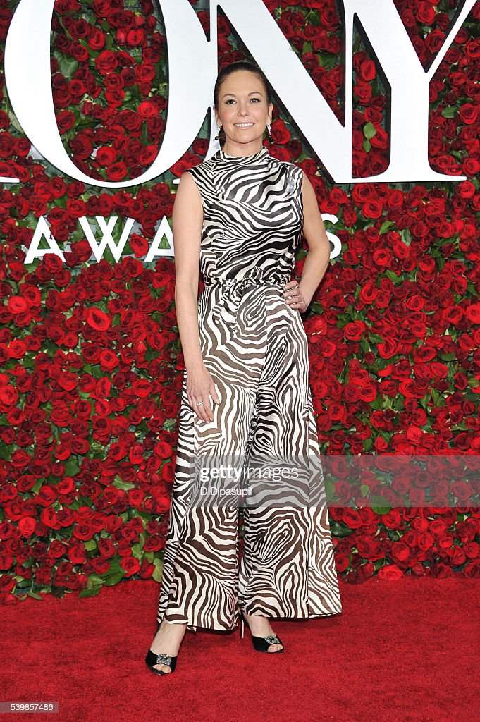 Diane Lane attends the 70th Annual Tony Awards at the Beacon Theatre on June 12, 2016 in New York City.