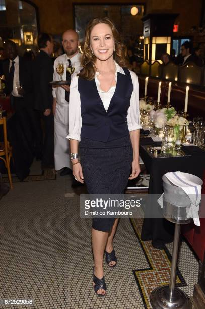 Diane Lane attends the CHANEL Tribeca Film Festival Artists Dinner at Balthazar on April 24 2017 in New York City