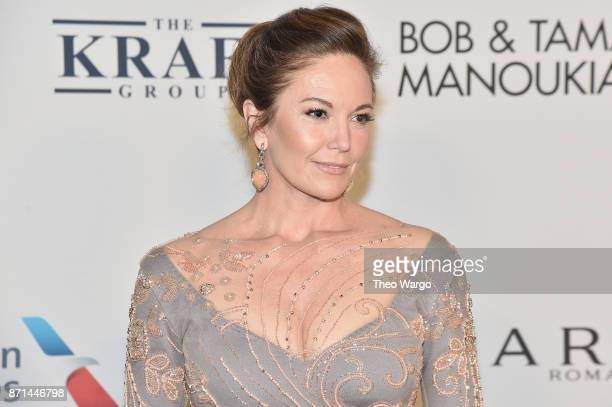 Diane Lane attends the Elton John AIDS Foundation Commemorates Its 25th Year And Honors Founder Sir Elton John During New York Fall Gala at Cathedral...