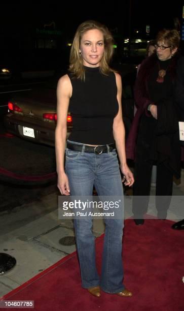 Diane Lane during 'Y Tu Mama Tambien' Premiere at Regent Showcase Theatre in Hollywood California United States