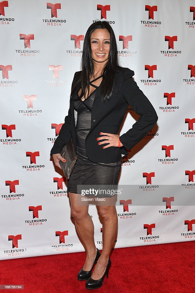 Diane Lee attends the 2013 Telemundo Upfront at Frederick P. Rose Hall, Jazz at Lincoln Center on May 14, 2013 in New York City.