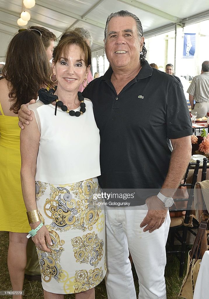 Diane Lieberman and Allen Lieberman attend the Hamptons Magazine Celebration of Grand Prix Sunday At Hampton Classic on September 1, 2013 in Bridgehampton, New York.