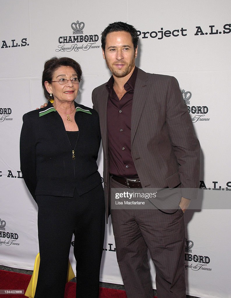 Diane Morrow and Rob Morrow during The Chambord Project Raise Money by Raising Your Glass at NA in New York City New York United States