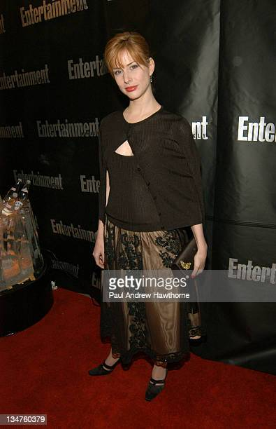 Diane Neal attends Entertainment Weekly's party celebrating their 10th Anniversary Oscar Party with a host of celebrities at Elaine's on Sunday...