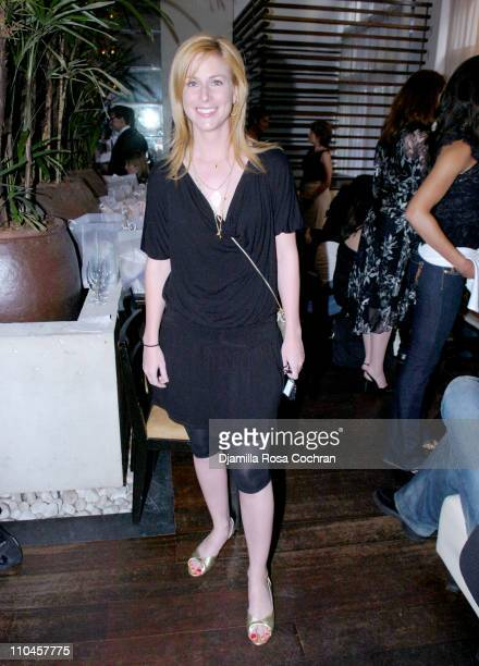 Diane Neal during Celebrity Waiters Serve Up Sapa's Southeast Asian Cuisine to Benefit Project ALS at Sapa Restaurant in New York New York United...