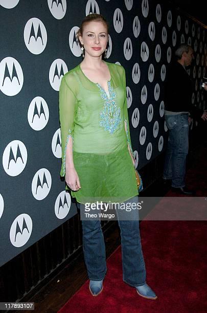 Diane Neal during Maria Sharapova's 18th Birthday Party Sponsored by Motorola at Hiro Ballroom in New York City New York United States