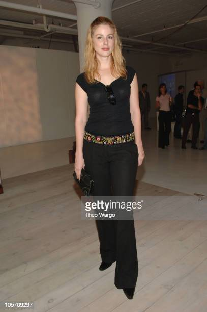 Diane Neal during Olympus Fashion Week Spring 2006 Nautica Front Row and Backstage at Boylan Studios in New York City New York United States