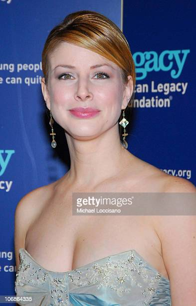 Diane Neal during Senator Hillary Rodham Clinton Hosts the Third Annual American Legacy Foundation Honors Gala at Cipriani 42nd Street in New York...