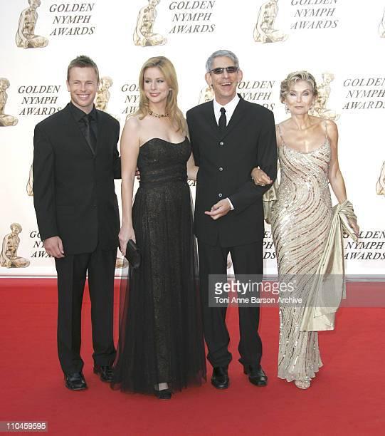 Diane NealRichard Belzer and Guests during 46th Monte Carlo Television Festival Closing Ceremony Arrivals at Grimaldi in Monte Carlo Monaco