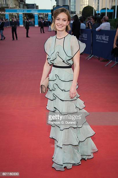 Diane Rouxel arrives at the 'Imperium' Premiere during the 42nd Deauville American Film Festival on September 9 2016 in Deauville France