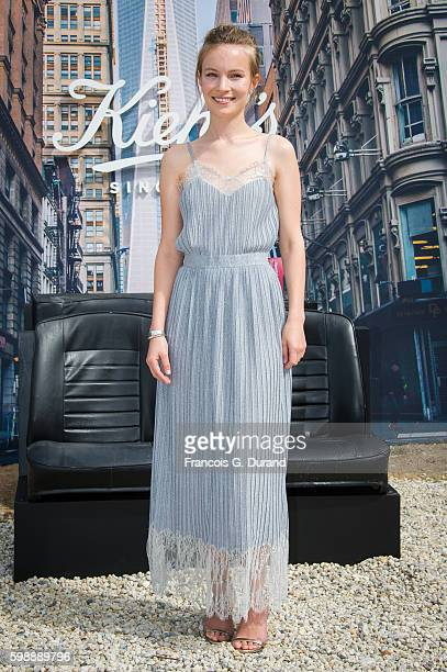 Diane Rouxel attends the Jury Revelations Photocall at the Kielh's Club during the 42nd Deauville American Film Festival on September 3 2016 in...