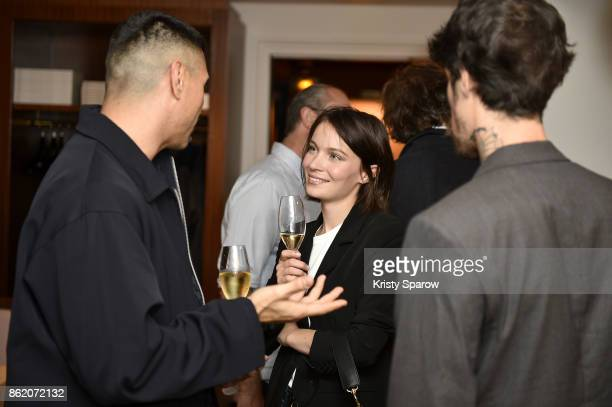 Diane Rouxel attends the Surface Magazine Fall Fashion Issue 2017 Presentation on October 16 2017 in Paris France