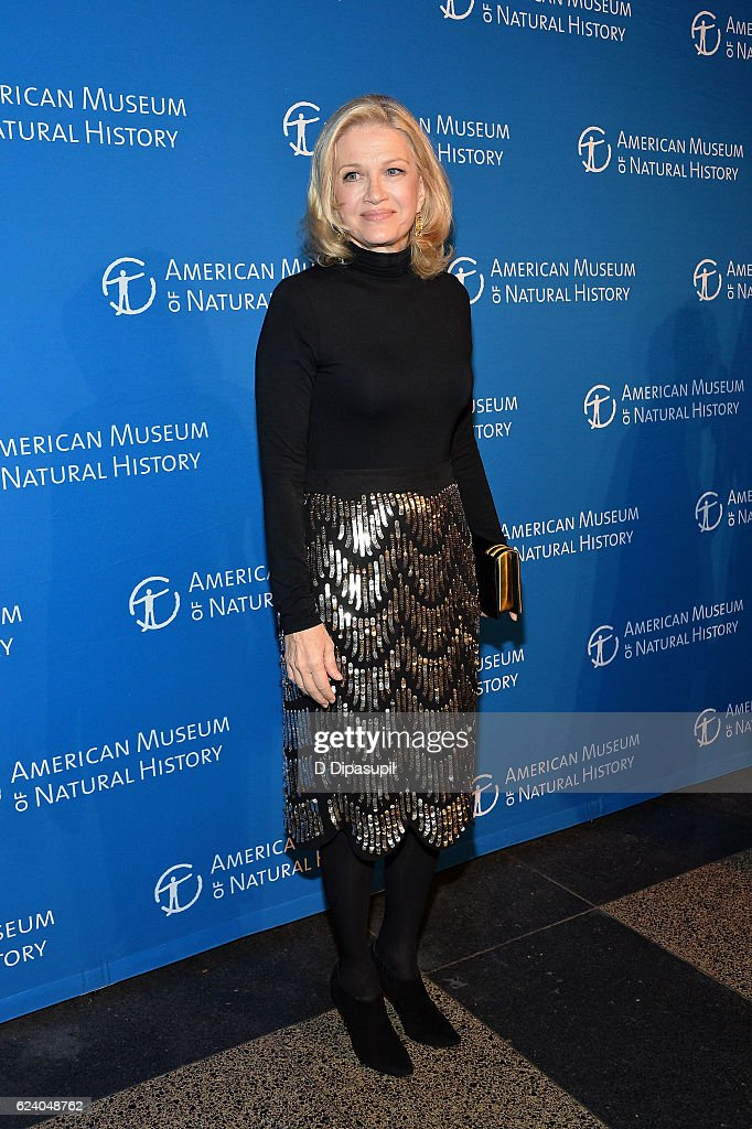 Diane Sawyer attends the 2016 American Museum of Natural History Museum Gala at the American Museum of Natural History on November 17, 2016 in New York City.