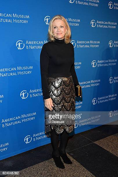 Diane Sawyer attends the 2016 American Museum of Natural History Museum Gala at the American Museum of Natural History on November 17 2016 in New...
