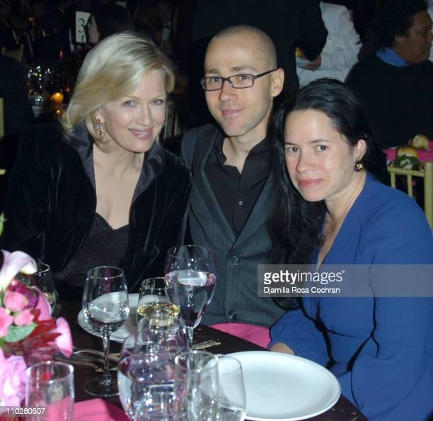 Diane Sawyer Daniel De La Calle and Natalie Merchant