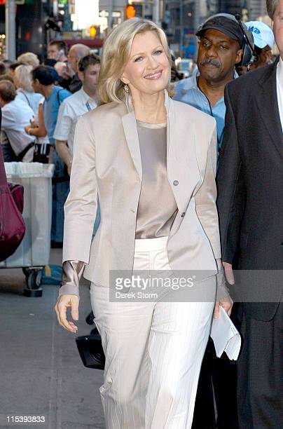 Good Morning America Diane Sawyer : Diane sawyer stock photos and pictures getty images