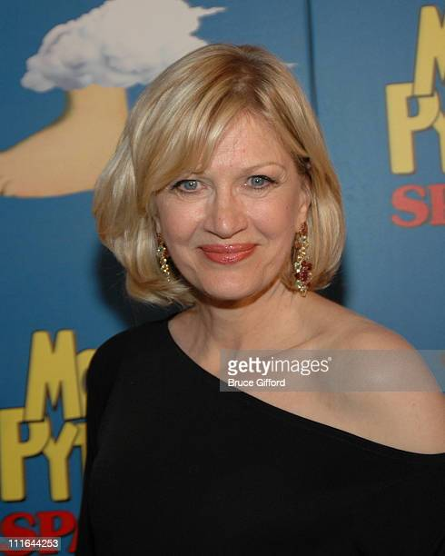 Diane Sawyer during Opening Night For 'Spamalot' At The Wynn Las Vegas Arrivals at Wynn Hotel Casino in Las Vegas Nevada United States