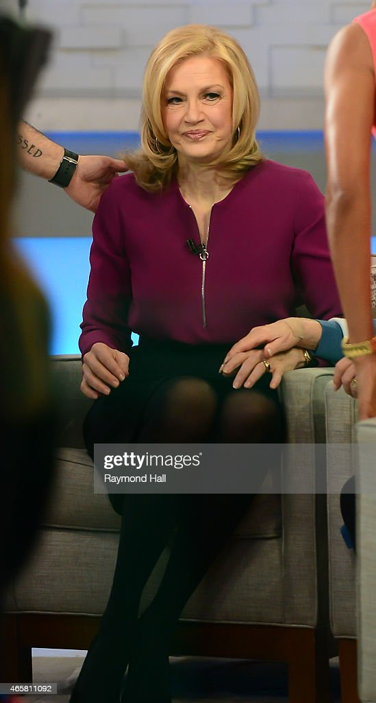 Good Morning America Diane Sawyer : Celebrity sightings in new york city march