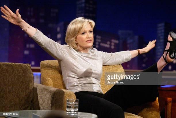 Diane Sawyer on the 'Jimmy Kimmel Live' show on ABC Photo by Jesse Grant/WireImagecom/ABC