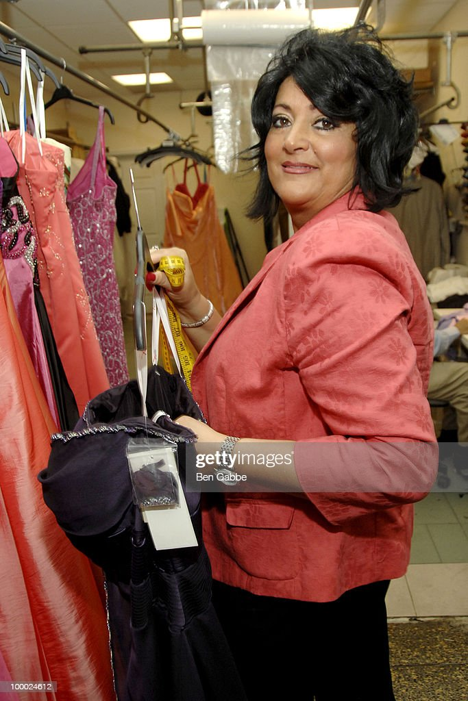 Diane Scali attends the Jersey Girls Make New York Prom Dreamss Come True event at Cameo Cleaners on May 20, 2010 in New York City.