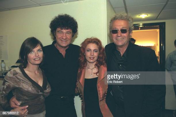 Diane Tell Robert Charlebois Isabelle Boulay and the songwriter from Quebec Luc Plamondon