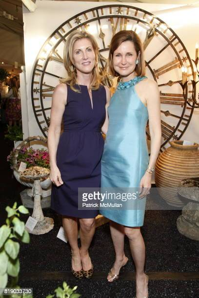 Diane Tierney and Cosby George attend The 18th Annual Antique Garden Furniture Show Preview Party Collector's Plant Sale at The New York Botanical...