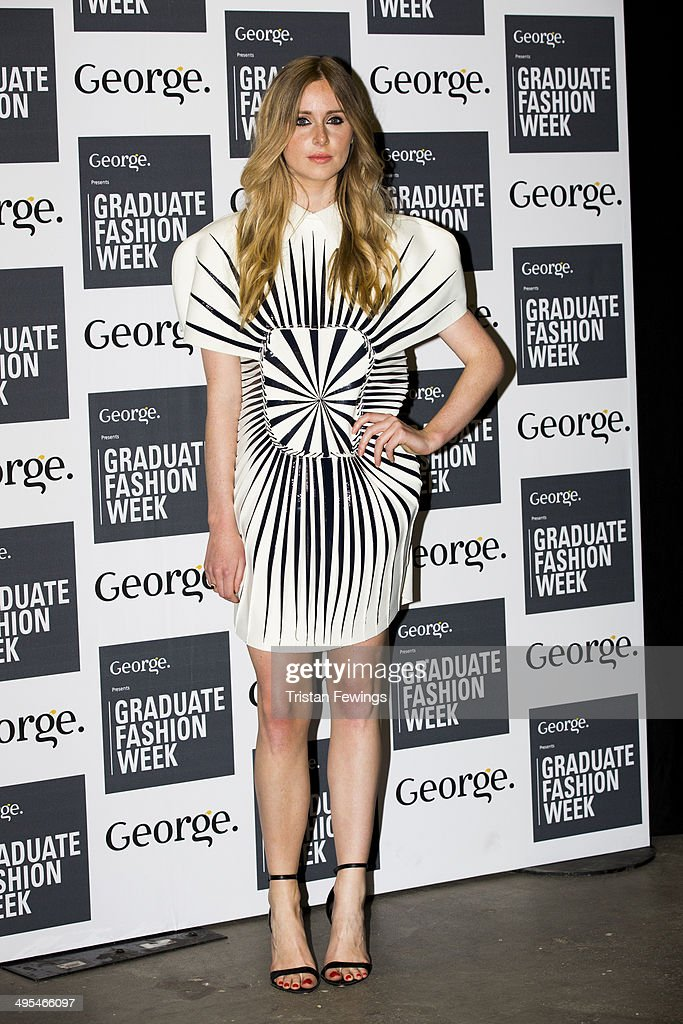 Diane Vickers arrives at the GWF Awards Show during day 4 of Graduate Fashion Week 2014 at The Old Truman Brewery on June 3, 2014 in London, England.